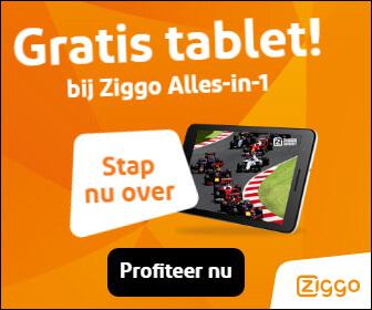 Ziggo gratis tablet actie